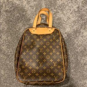 Men's Authentic Louis Vuitton shoe shoulder bag